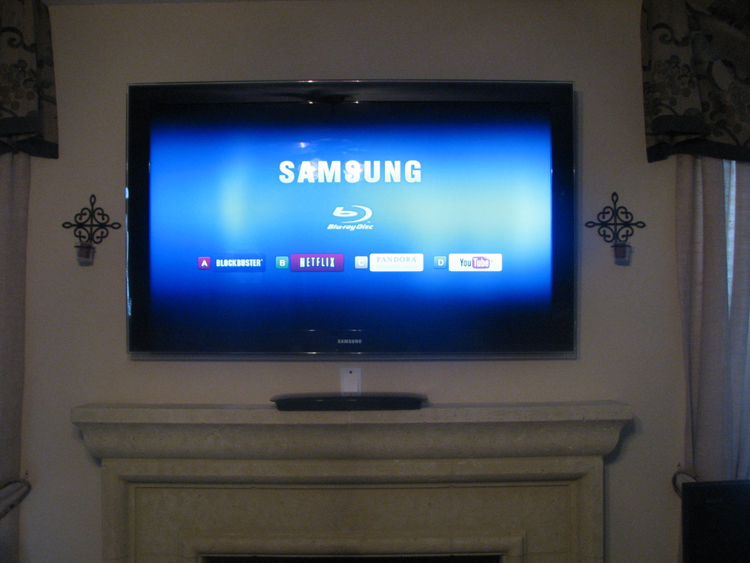 tv over fireplace unisen media