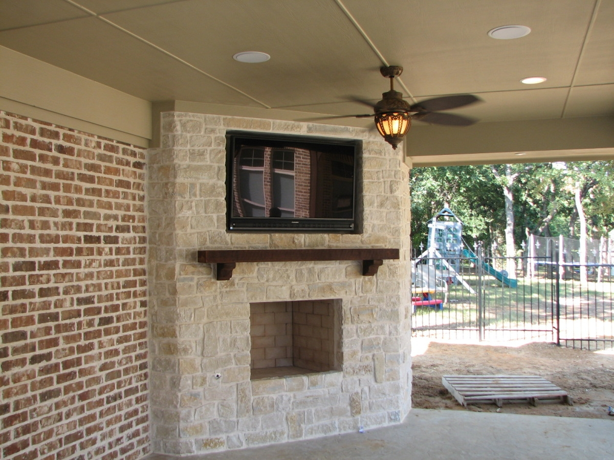 Outdoor Patio Tv Mounts Designs