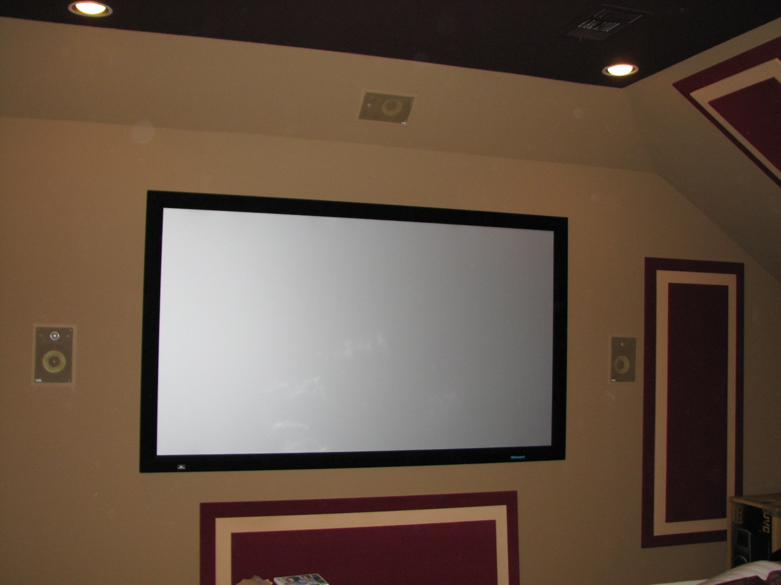 Media Rooms/Projector and Screens