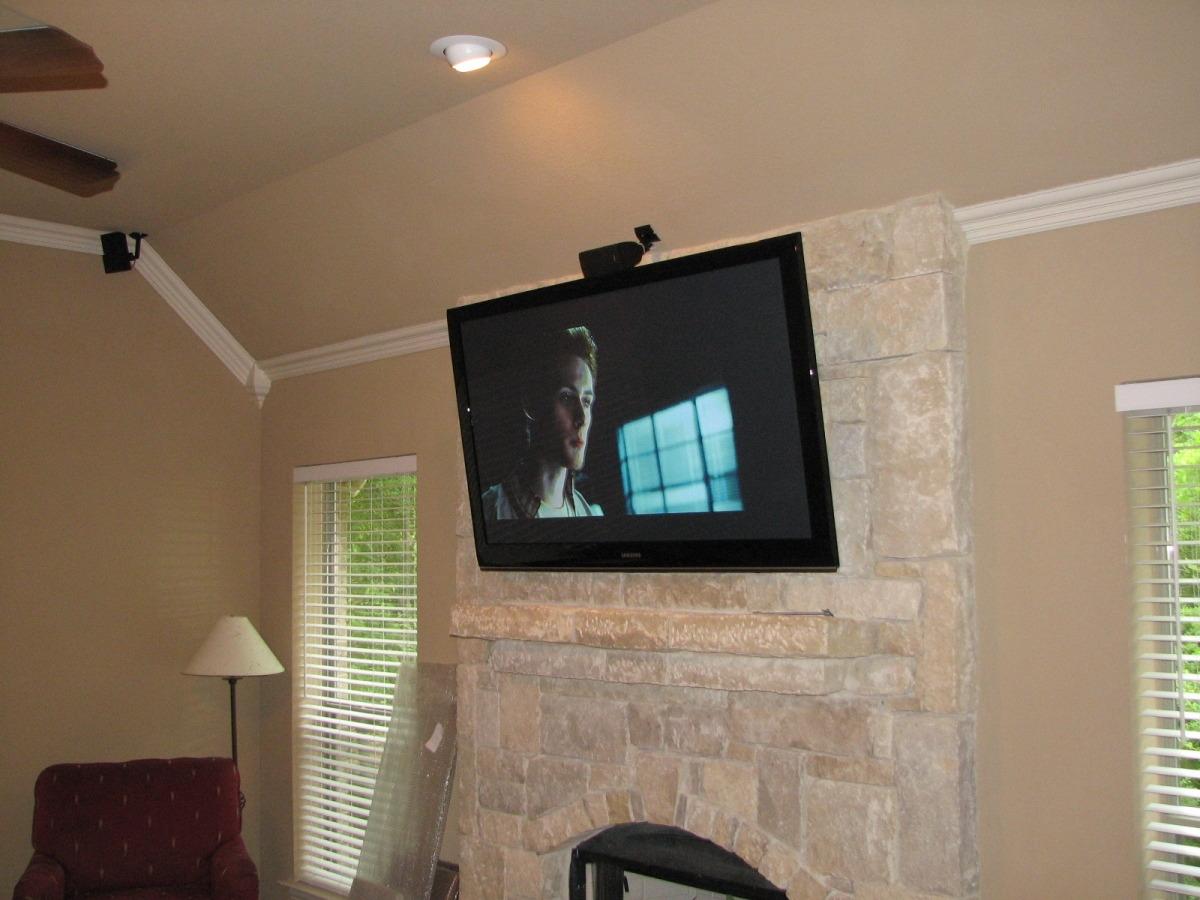 tvs over fireplace unisen media llc