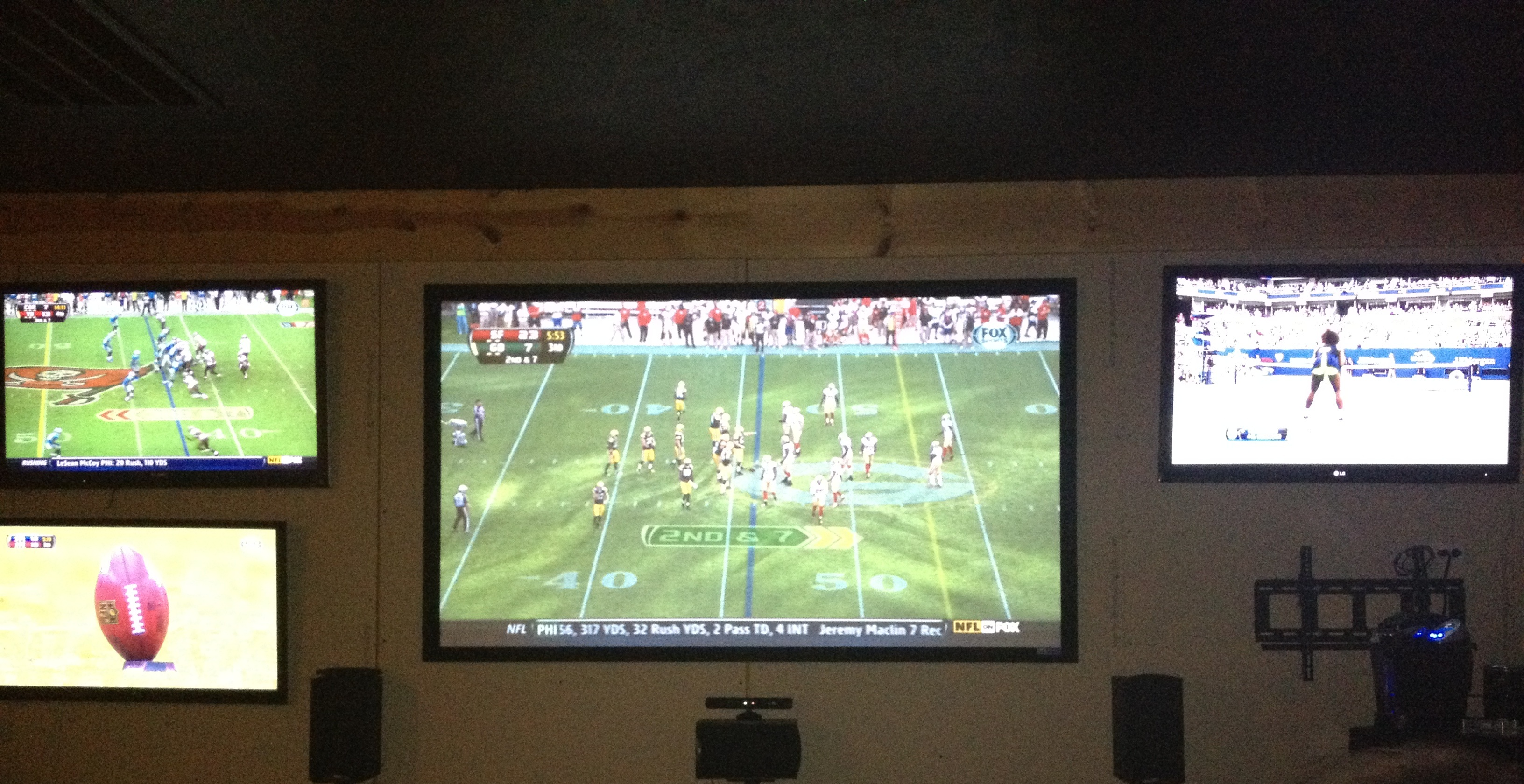 NFL Home Theater, Dallas home theater, highland Park Home theater, home theater